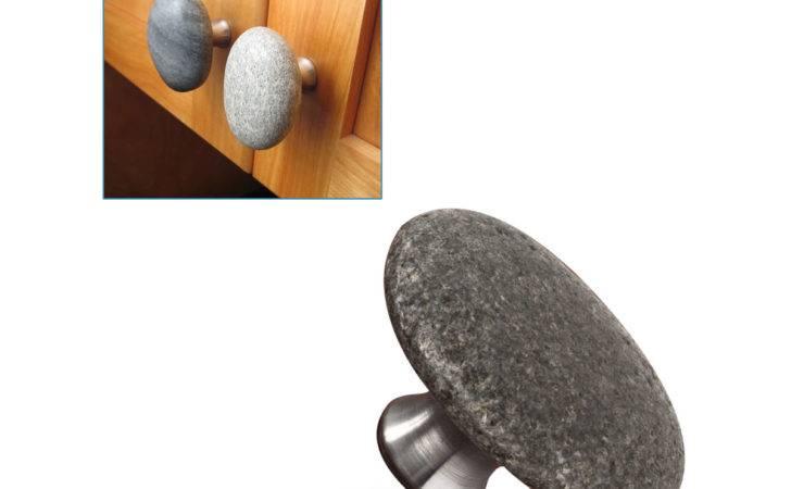 Knobs Drawer Pulls Sea Stone Cabinet Handles Pull