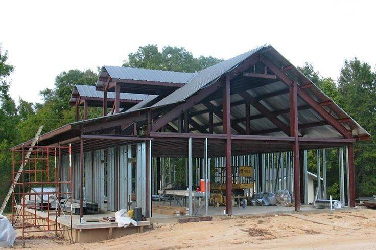 Kodiak Uses Pre Engineered Steel Framing Their Home Kits Which