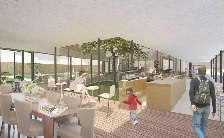 Koehler Wins Competition Design Edegem Community Center Library