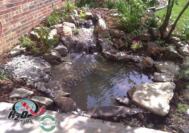 Koi Pond Backyard Small Ideas Your Kentucky Landscape