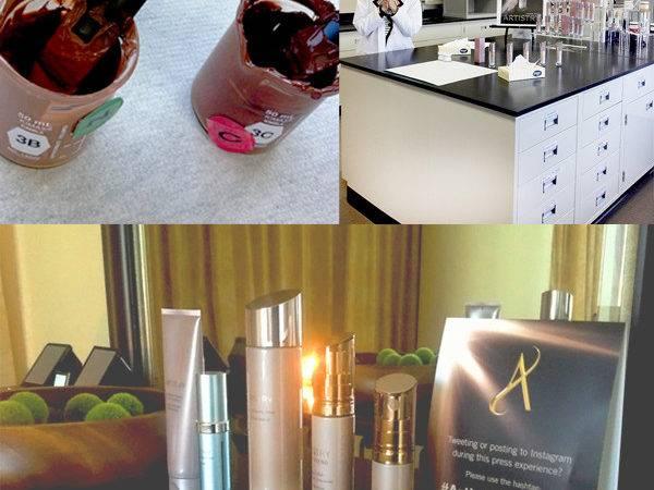 Lab Visit Talk Makeup Designer Spa Room Essentials