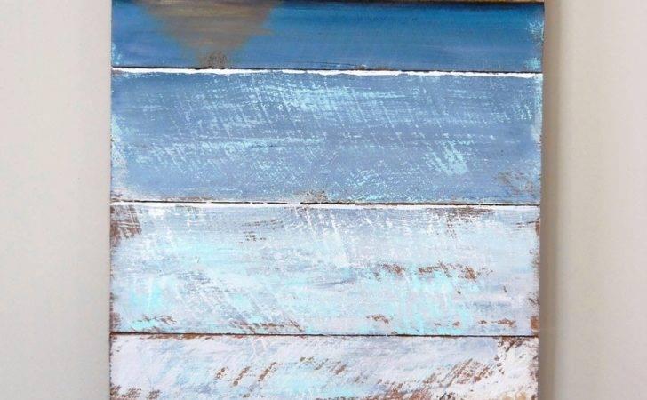 Lake Girl Paints Pallet Art