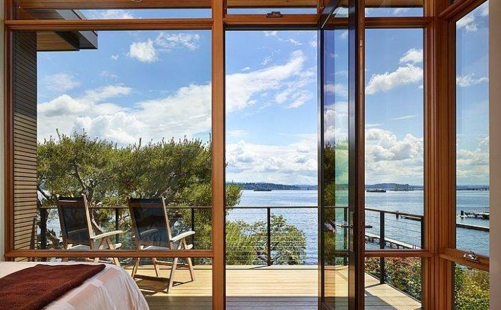 Lakefront House Seattle Promises Solitude Along Stunning Views