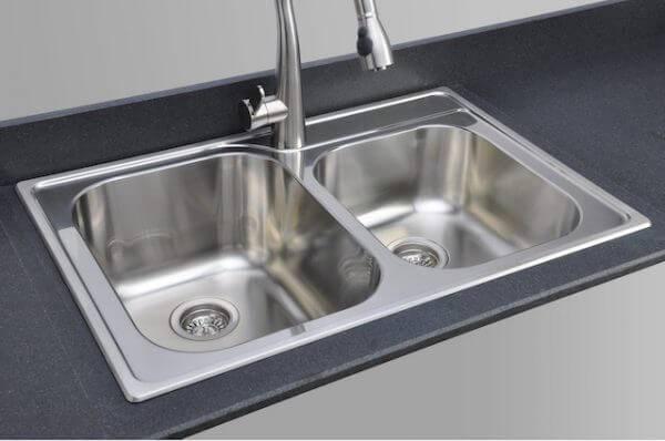 Lakes Series Topmount Kitchen Sink Via Wayfair