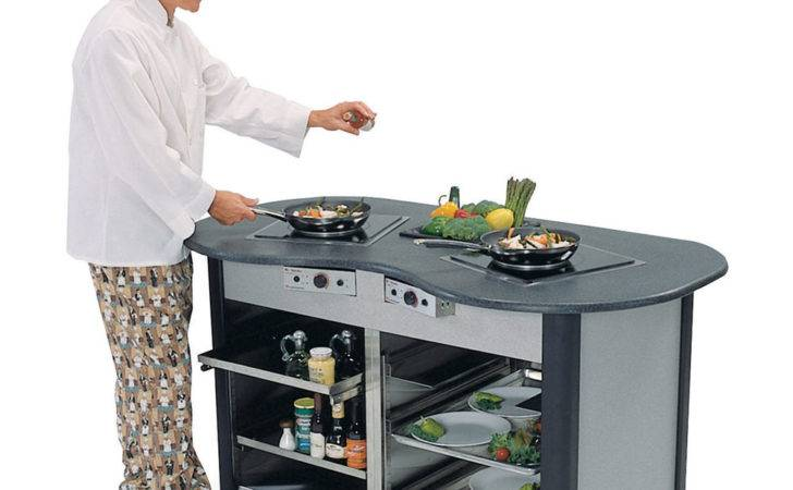 Lakeside Creation Station Mobile Stainless Steel