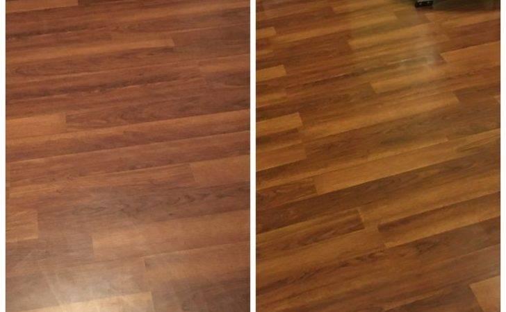 Laminate Floors Make Them Shine Again Easy Diy Step