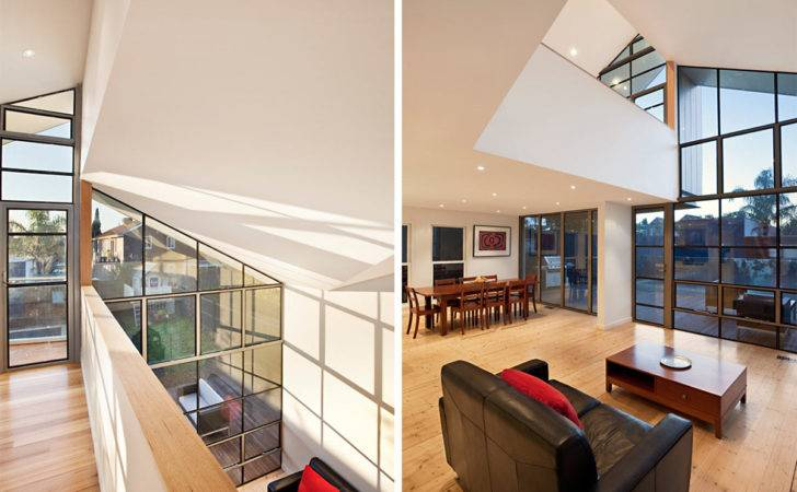 Landing Living Space Bungalow Renovation Extension Melbourne