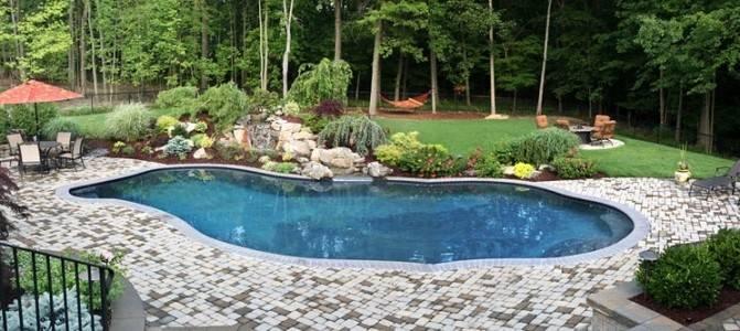 Landscape Around Pool Outside Pinterest