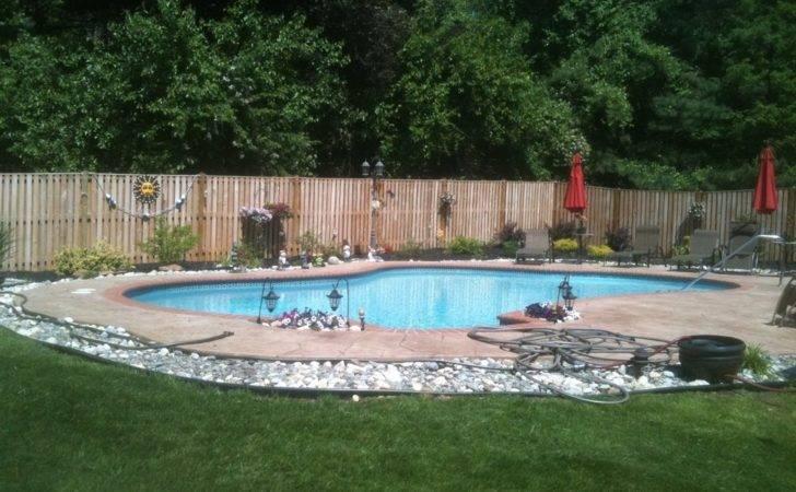 Landscape Design Around Pool Ideas Home