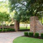 Landscape Design Brick Driveway Ideas Entrance