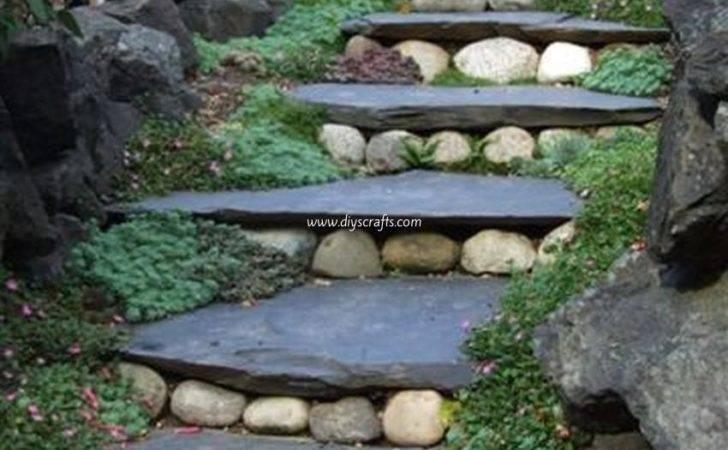 Landscape Design Garden Stairs Diy Crafts