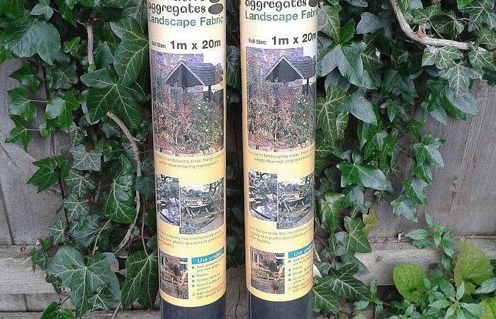 Landscape Fabric Weed Prevention Membrane Pack Decorative