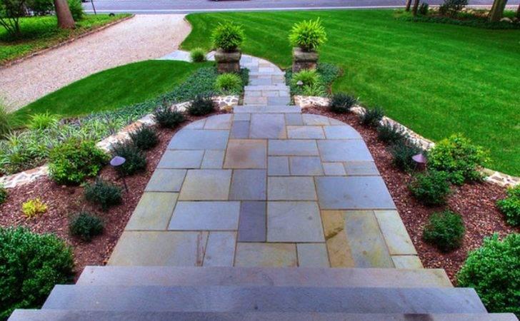 Landscape Lovable Driveway Entrance Landscaping Ideas