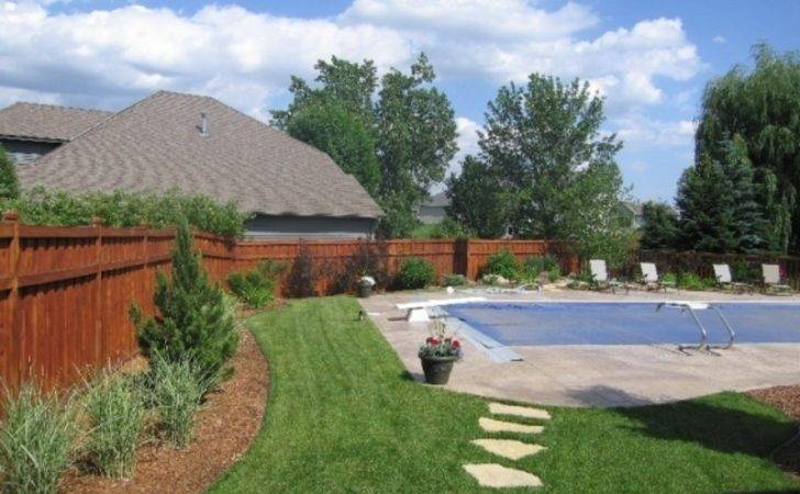 Landscape Pool Design Around