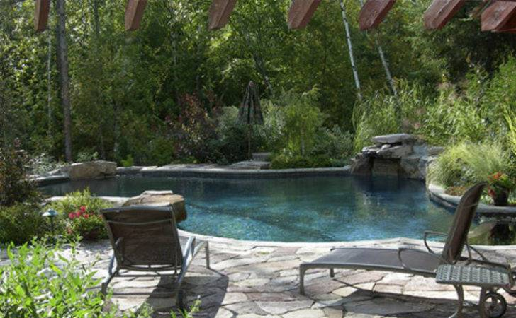 Landscape Pool Design Swimming Landscaping Ideas