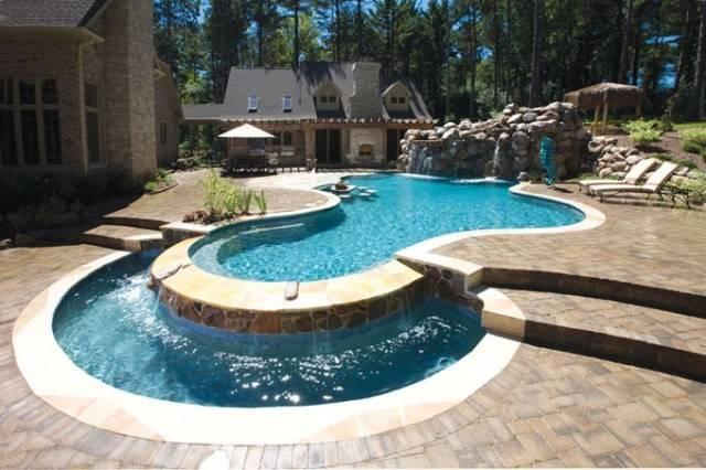 Landscape Pool Suitable Current Mix Landscapes Pools