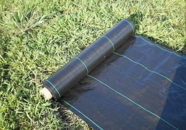 Landscape Weed Barrier Fabric Ebay
