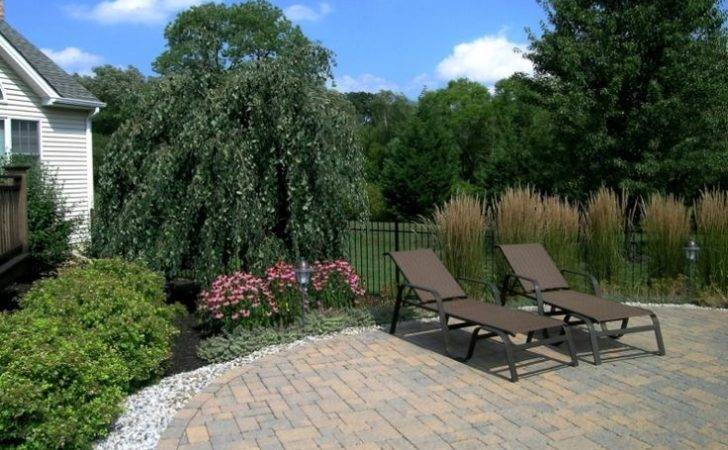 Landscaping Around Pool Custom Paving Brick