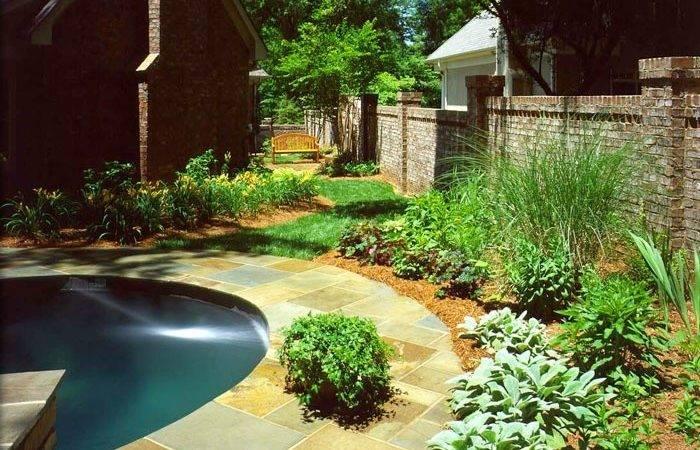 Landscaping Around Pool Extreme Exteriors Pinterest