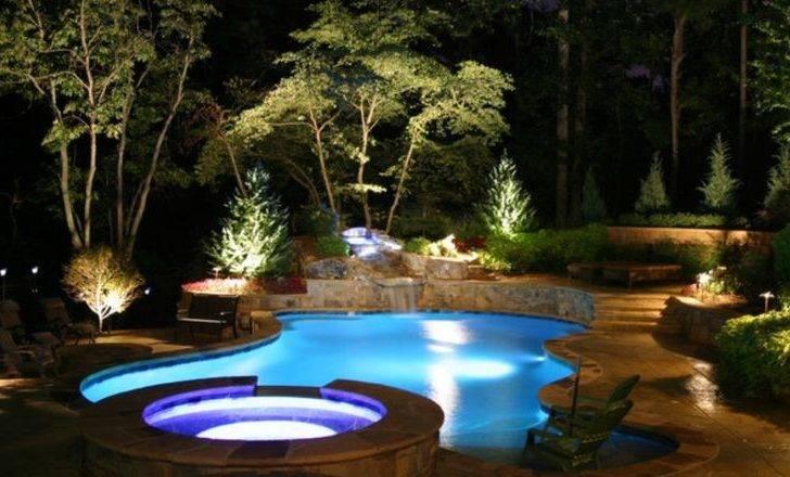 Landscaping Around Pool House Decore Pinterest