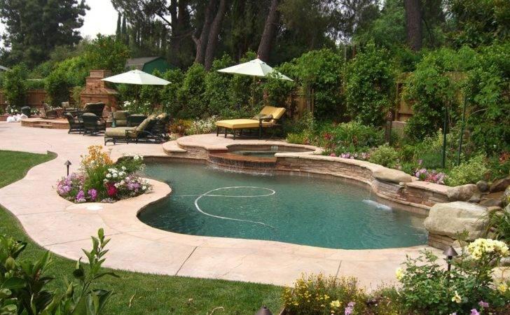 Landscaping Around Pools Northridge Larsen Landscape