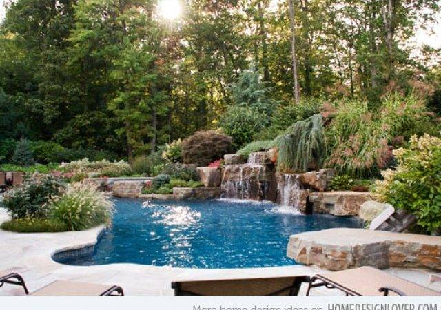 Landscaping Around Pools Private Safe Convenient