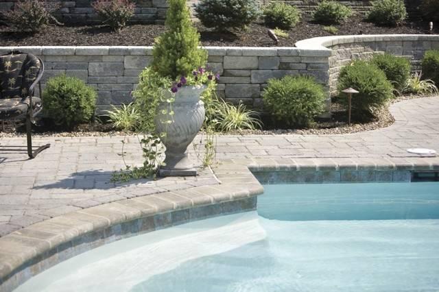 Landscaping Around Swimming Pool Modern Philadelphia