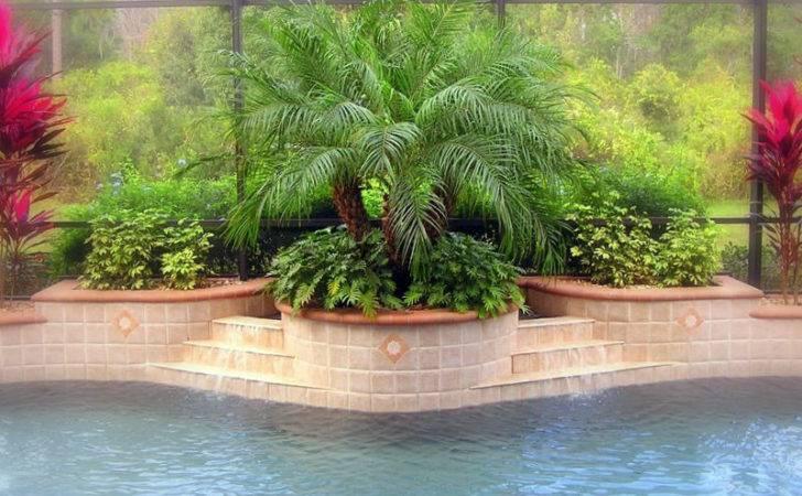 Landscaping Ideas Around Pool Swimming Photos