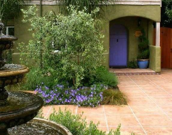 Landscaping Ideas Backyard Designs Spanish Italian Styles