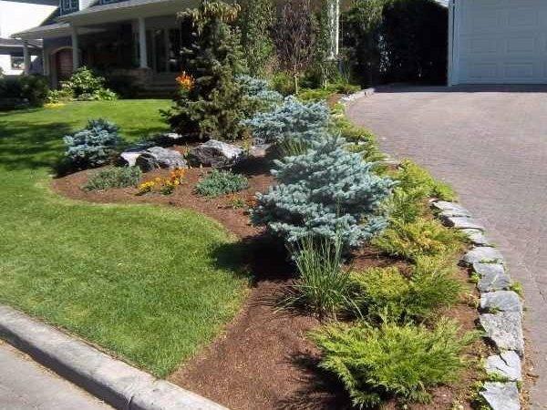 Landscaping Ideas Driveway Garden Yard Google