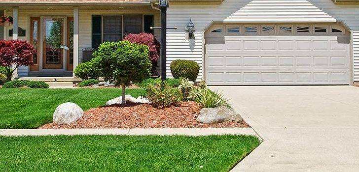 Landscaping Ideas End Driveway