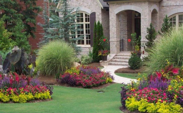 Landscaping Ideas Front Yard Flower Beds House