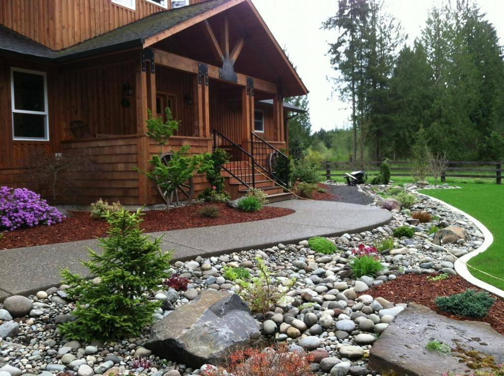 Landscaping Ideas River Rocks Guide Nice Plan