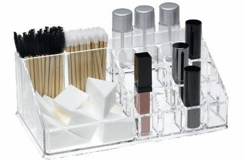 Large Acrylic Cosmetic Brush Organizer Makeup Organizers