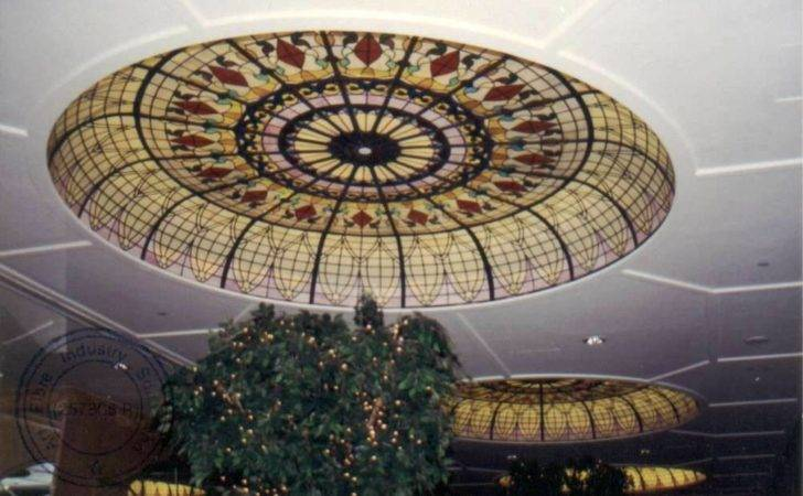 Large Ceiling Dome Just Example Can Domes