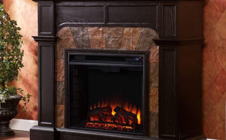 Large Electric Fireplace Mantel Freestanding