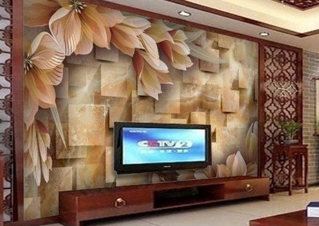 Large Mural Living Room Elegant Wall
