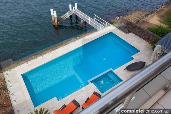 Large Pool Spa Combination Brought Back Life Pride Pools
