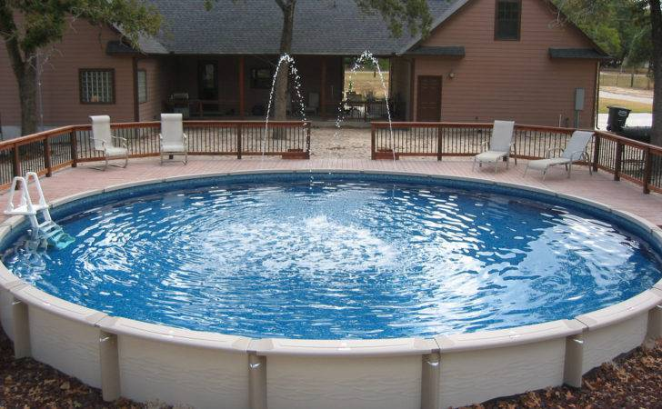 Large Round Above Ground Pool Wilson County