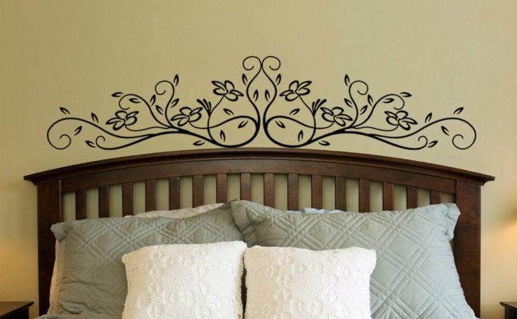 Large Vinyl Wall Decal Sticker Bedroom Headboard Pattern