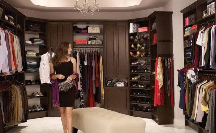 Large Walk Closet Home Design Ideas