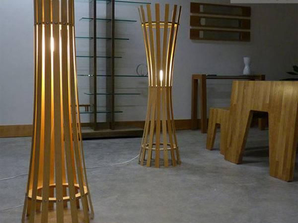 Larkin Creative Wood Floor Lamp Design Davin Bond