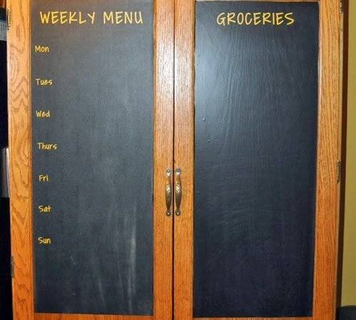 Late Night Crafts Creations Chalkboard Pantry Doors