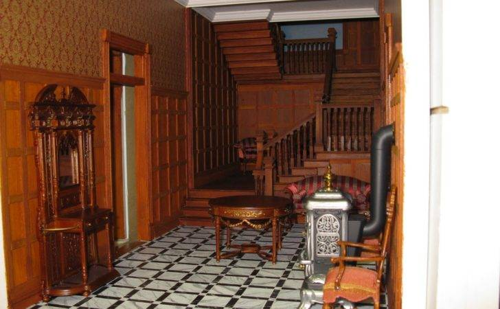 Late Victorian English Manor Dollhouse Miniature Scratch
