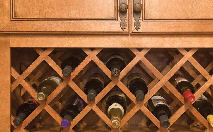 Lattice Wine Rack
