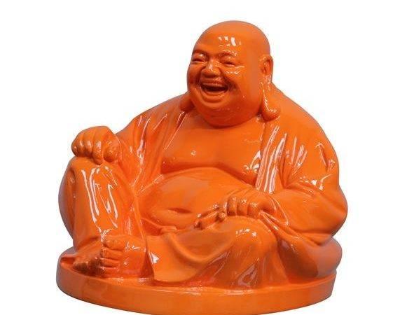 Laughing Buddha Orange Urban Barn Spa Bath Design Project Pint