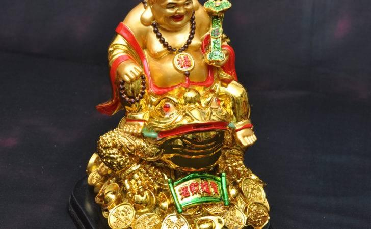 Laughing Buddha Sitting Toad