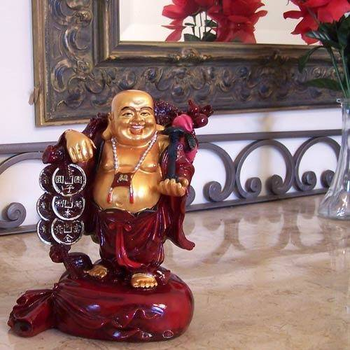 Laughing Buddha Statues Home Decoration Can Place
