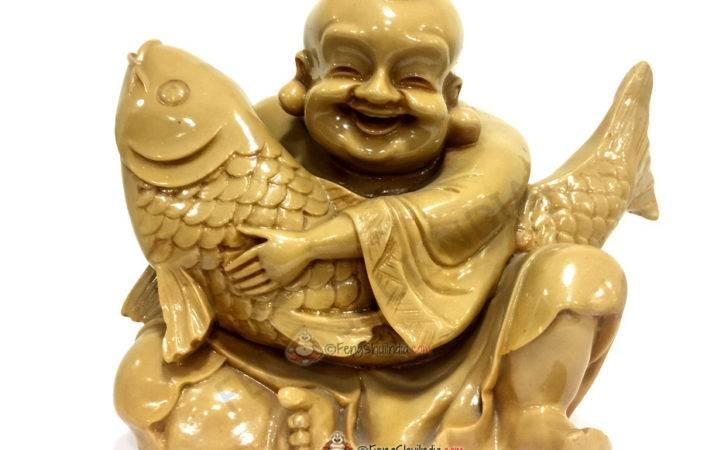 Laughing Buddha Wealth Carp Fish Feng Shui India