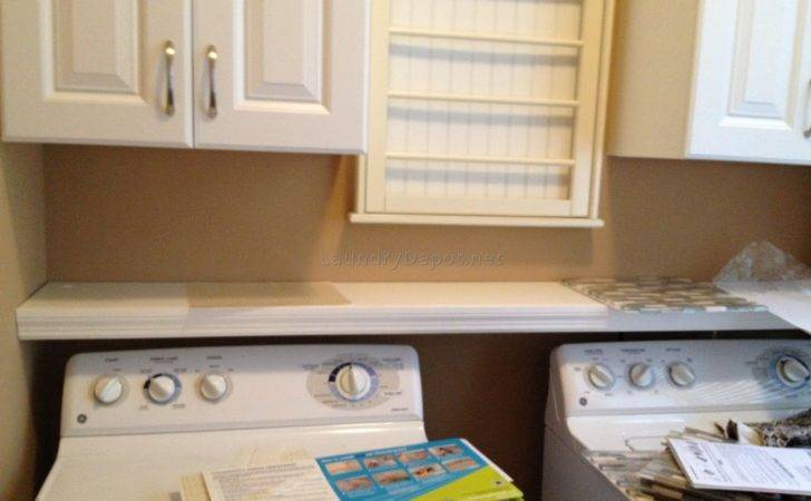 Laundry Room Storage Between Washer Dryer Best